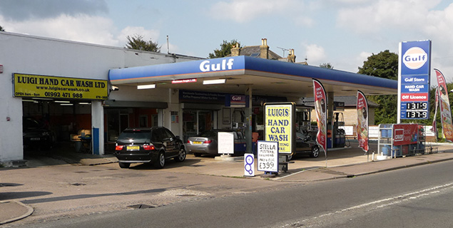 Petrol Station situated conveniently on site
